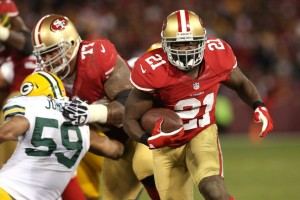 Frank Gore vs Packers